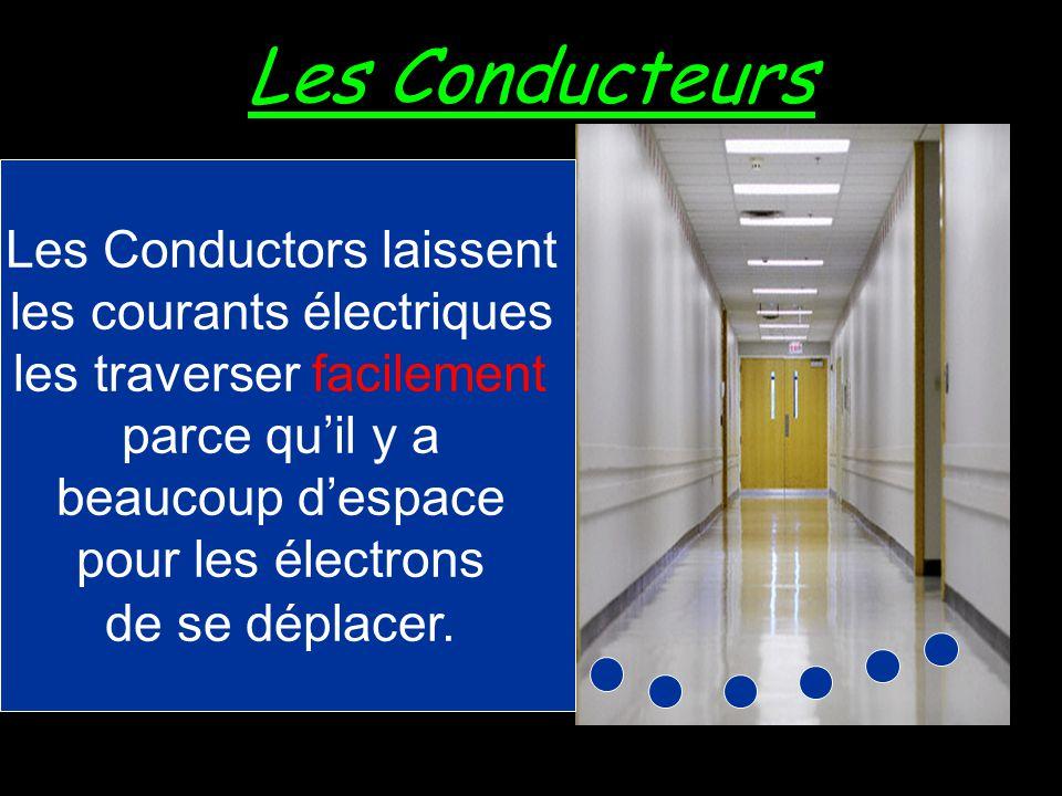 Les Conducteurs Les Conductors laissent les courants électriques