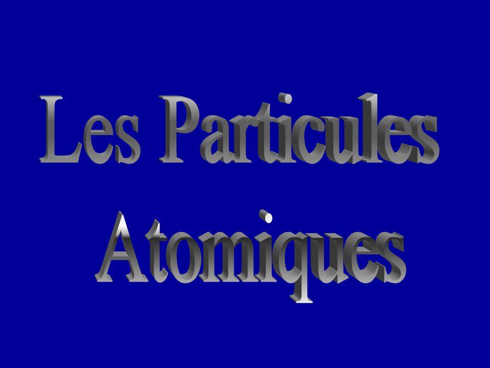 Les Particules Atomiques