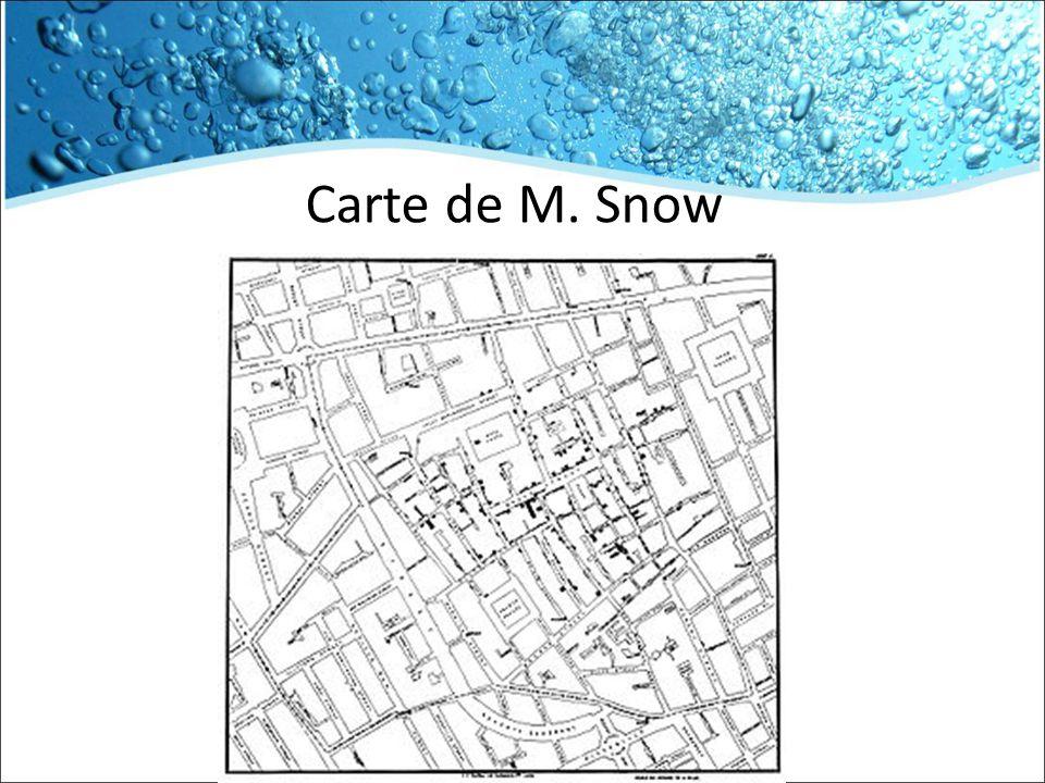 Carte de M. Snow