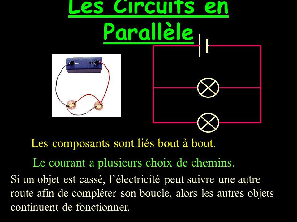 Les Circuits en Parallèle