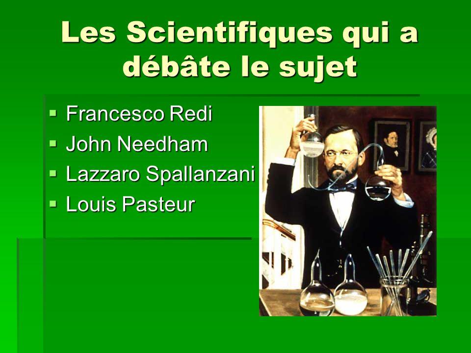 Les Scientifiques qui a débâte le sujet