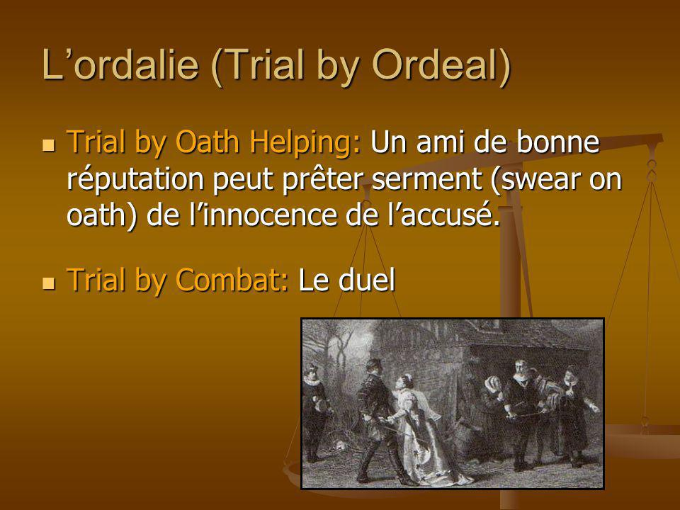 L'ordalie (Trial by Ordeal)
