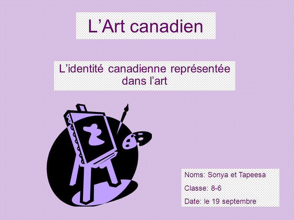 L'identité canadienne représentée dans l'art