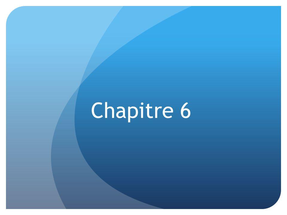 Chapitre 6