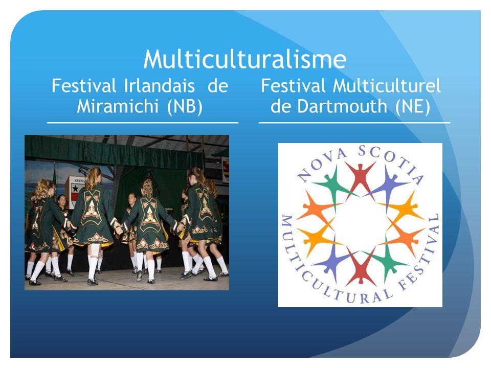 Multiculturalisme Festival Irlandais de Miramichi (NB)