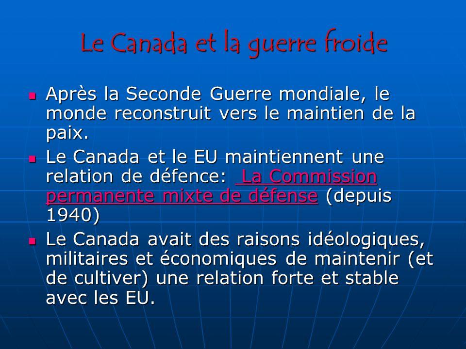 Le Canada et la guerre froide