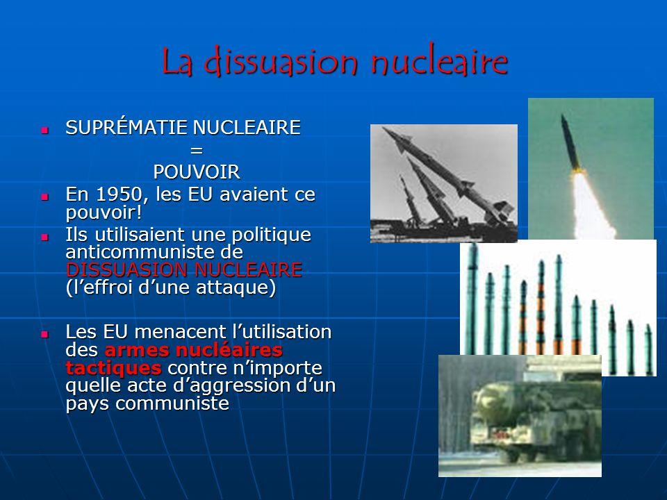 La dissuasion nucleaire