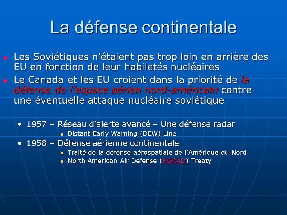 La défense continentale
