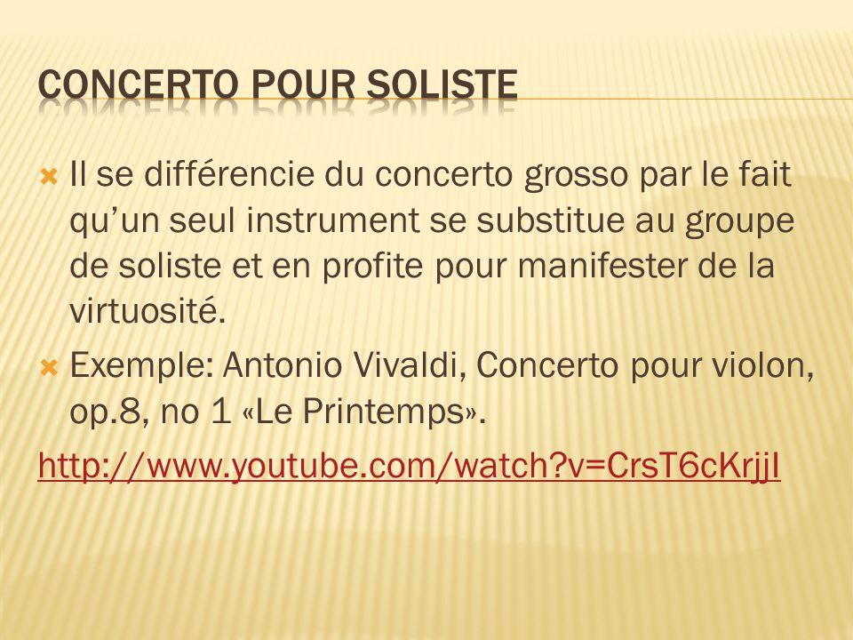 Concerto pour soliste