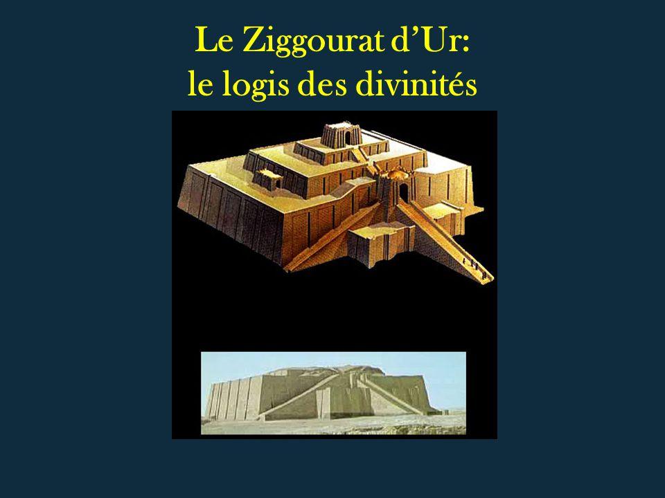 Le Ziggourat d'Ur: le logis des divinités