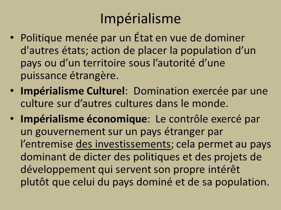 Impérialisme