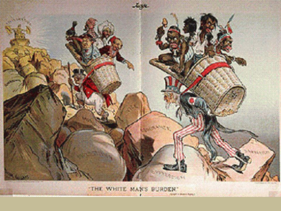 On peut penser que Kipling veuille avertir les Américains des sommes colossales qu'ils vont devoir investir dans la colonisation.
