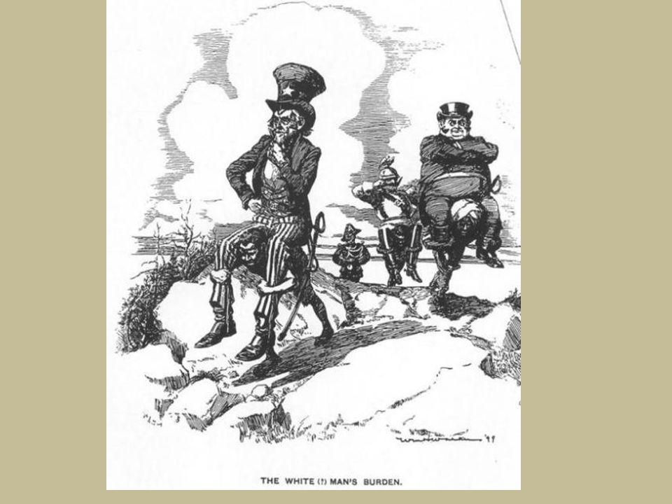 Sur cette affiche de life magazine publiée en 1899, nous voyons que la mise en pratique est différente de la théorie.