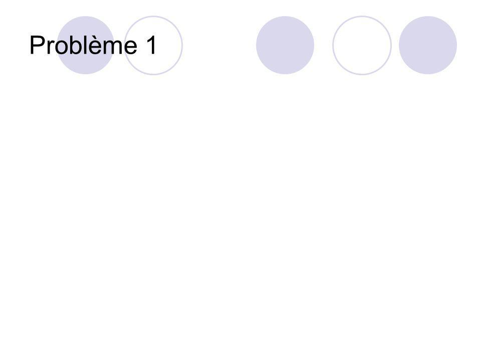 Problème 1