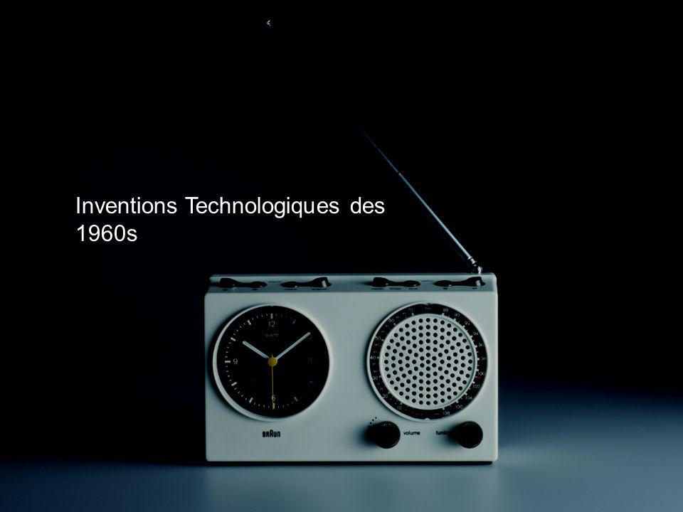 Inventions Technologiques des 1960s