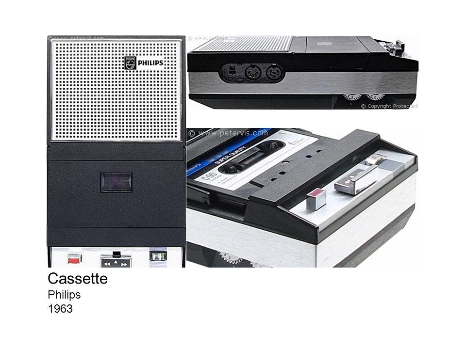 Cassette Philips 1963