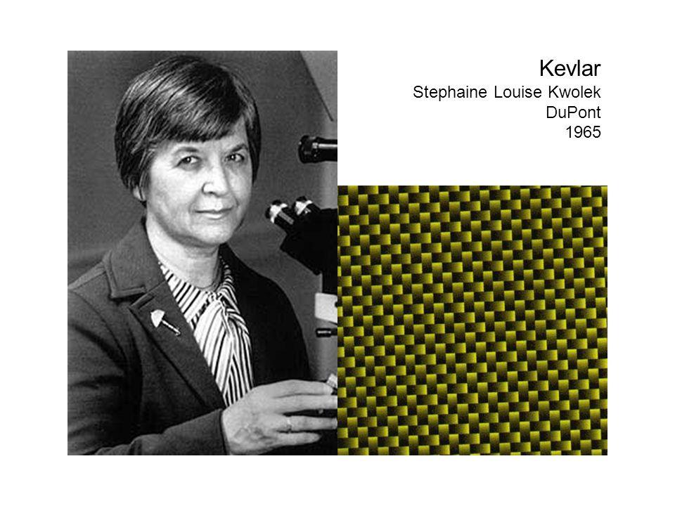 Kevlar Stephaine Louise Kwolek DuPont 1965