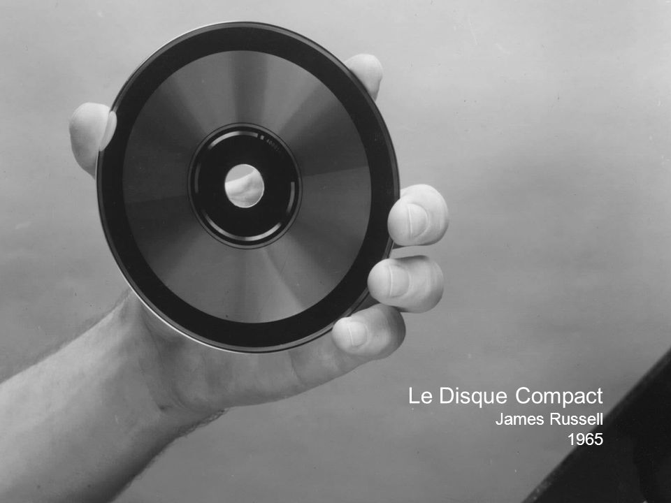 Le Disque Compact James Russell 1965