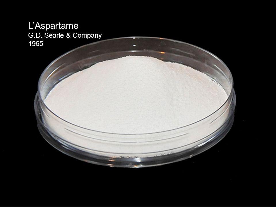 L'Aspartame G.D. Searle & Company 1965