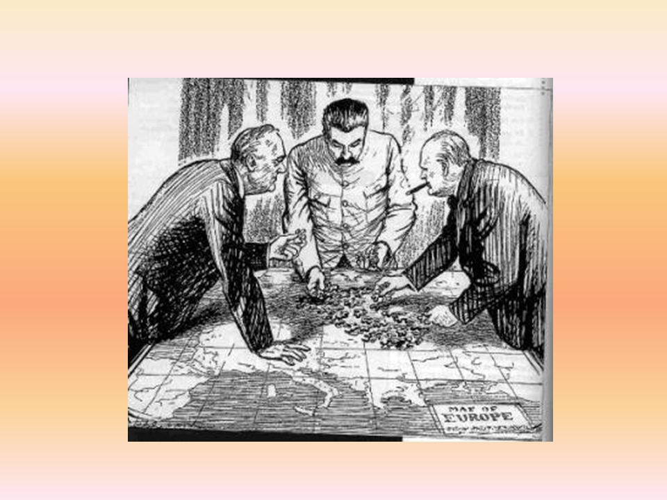 Caricature: Yalta