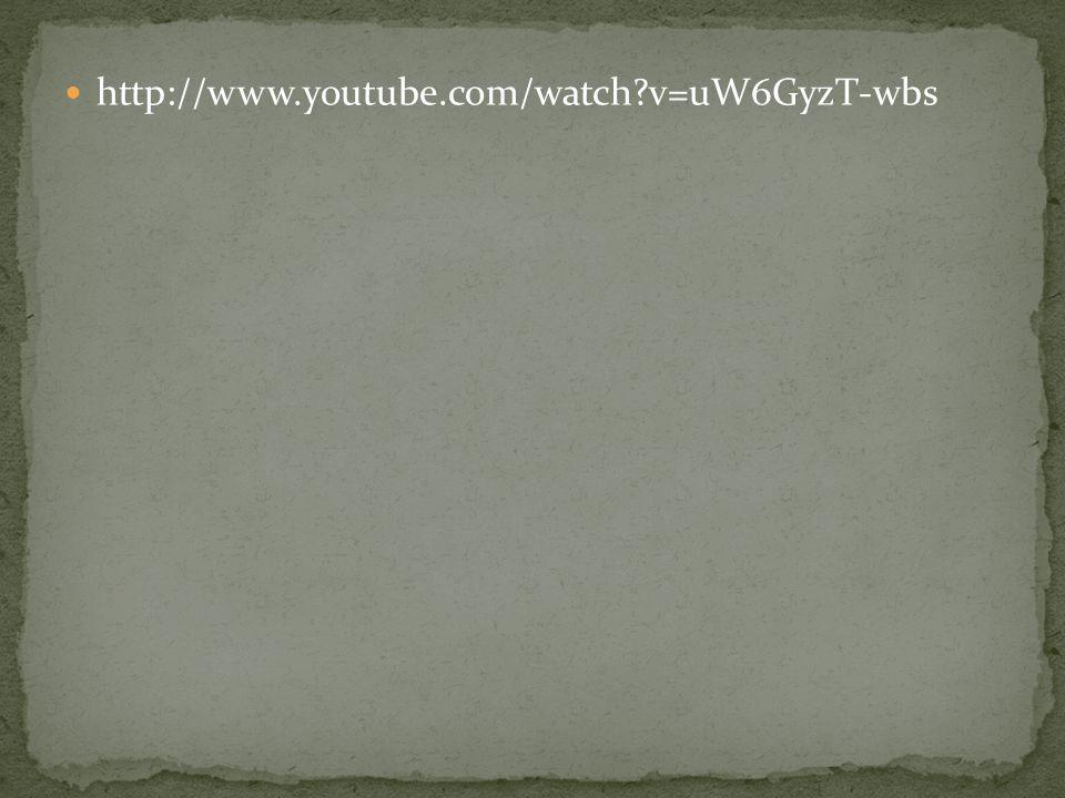 http://www.youtube.com/watch v=uW6GyzT-wbs