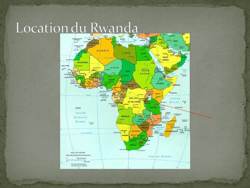 Location du Rwanda