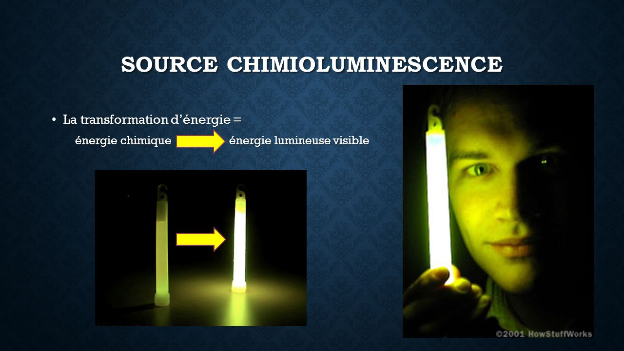 Source chimioluminescence