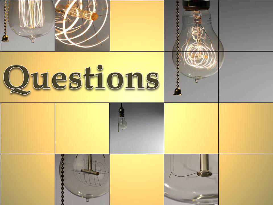 Questions Light Bulb Questions (Intermediate)