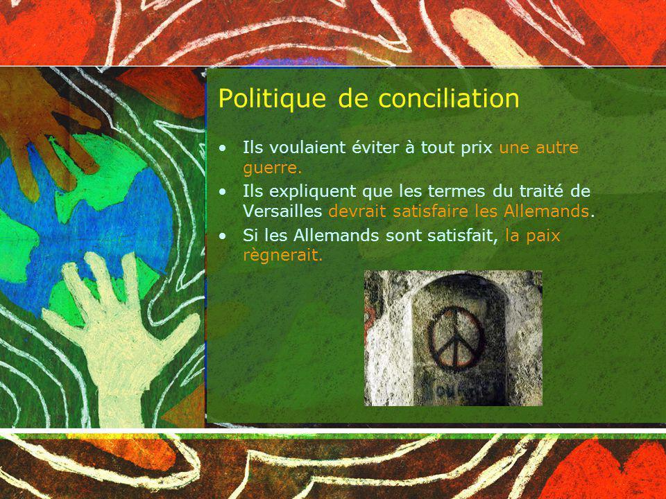 Politique de conciliation