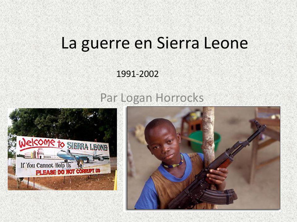 La guerre en Sierra Leone