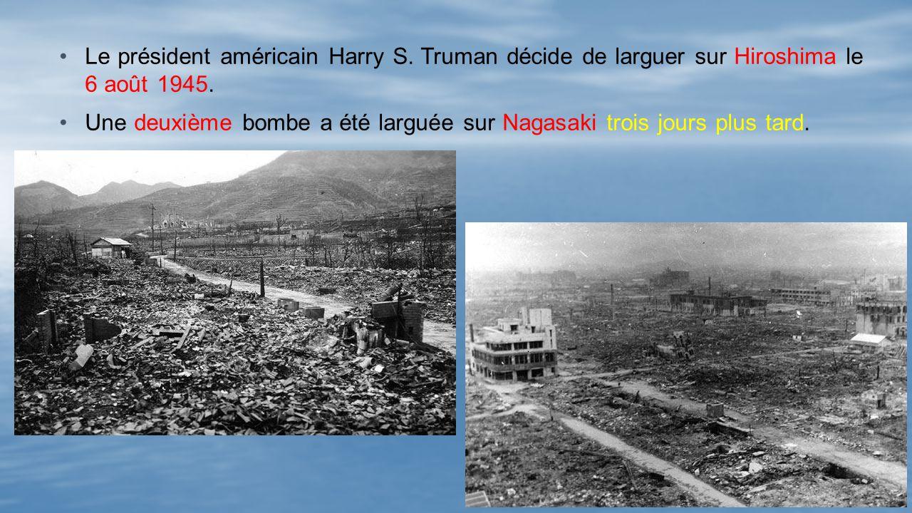 Le président américain Harry S