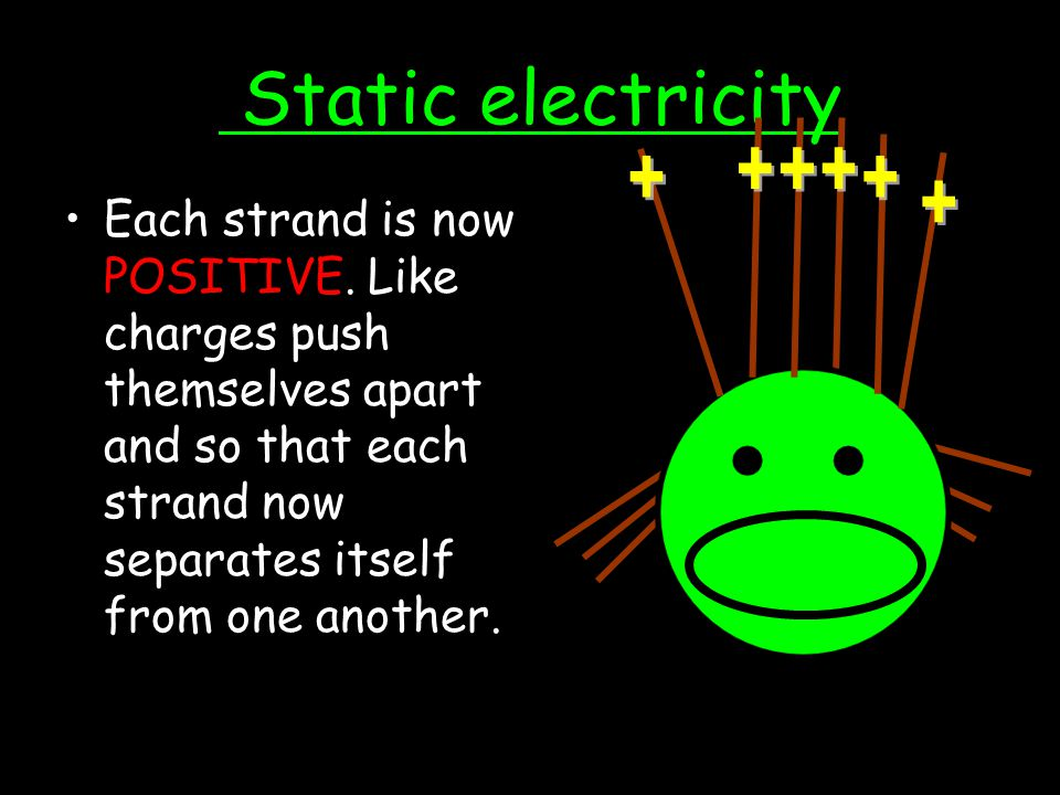 Static electricity + + + + + +