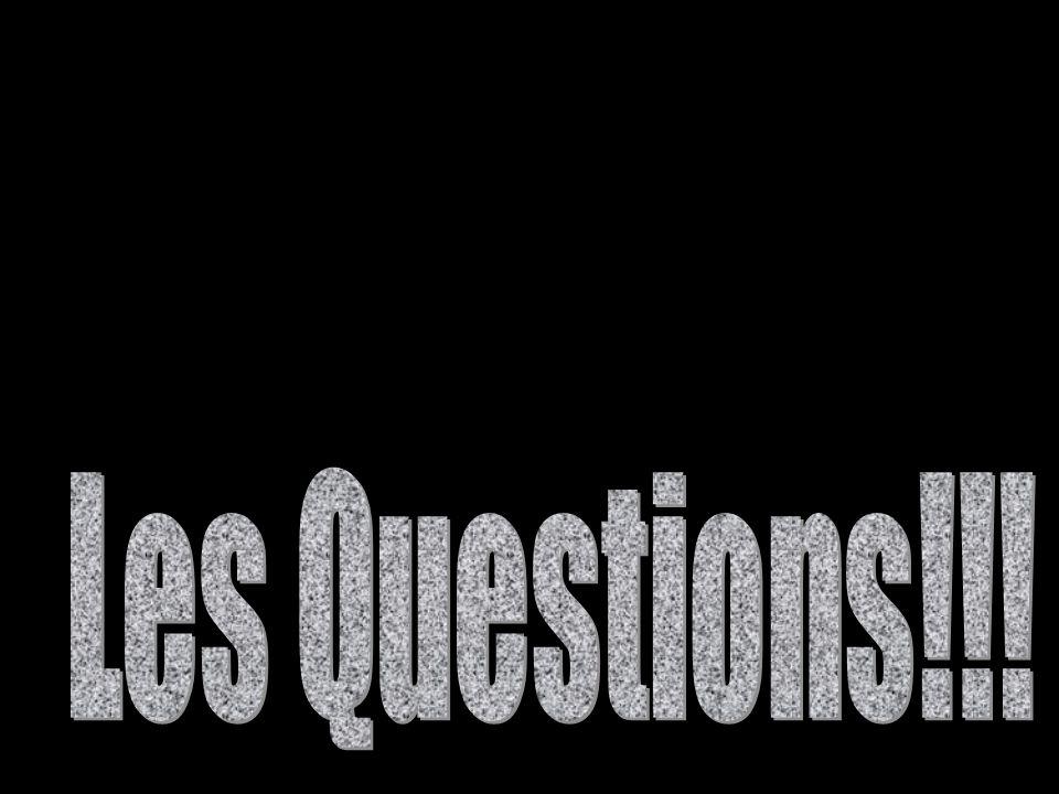 Les Questions!!!