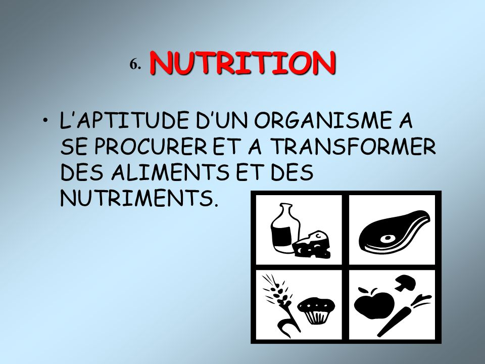 NUTRITION 6.