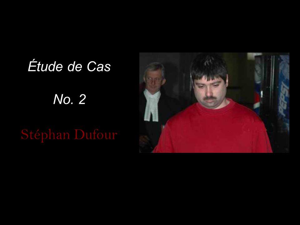 Étude de Cas No. 2 Stéphan Dufour