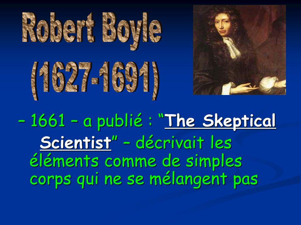 – 1661 – a publié : The Skeptical