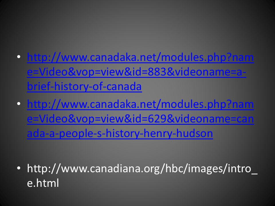 http://www. canadaka. net/modules. php