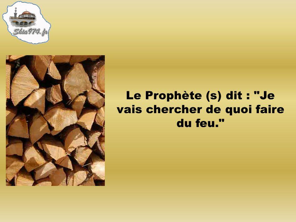 Le Prophète (s) dit : Je vais chercher de quoi faire du feu.