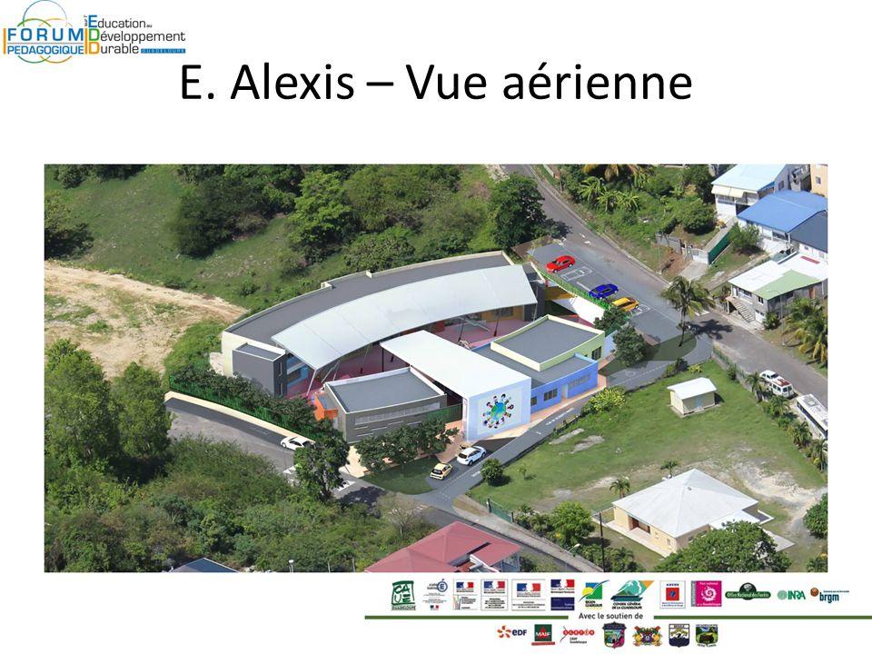 E. Alexis – Vue aérienne