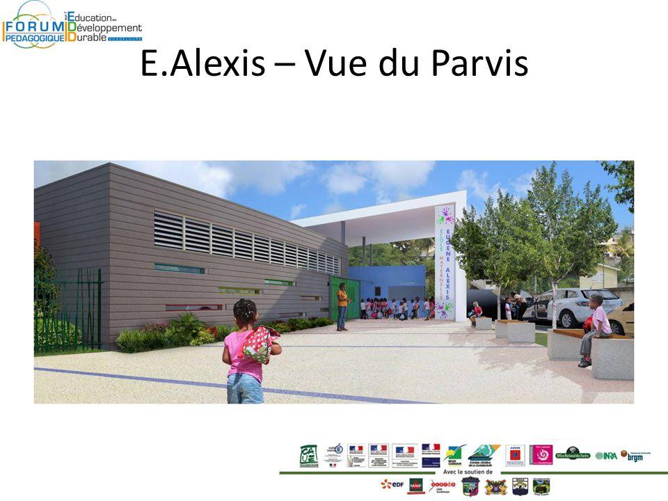 E.Alexis – Vue du Parvis
