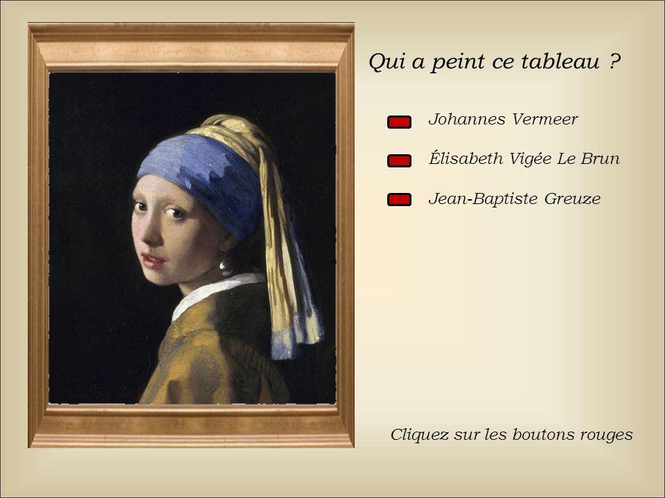 Qui a peint ce tableau Johannes Vermeer Élisabeth Vigée Le Brun