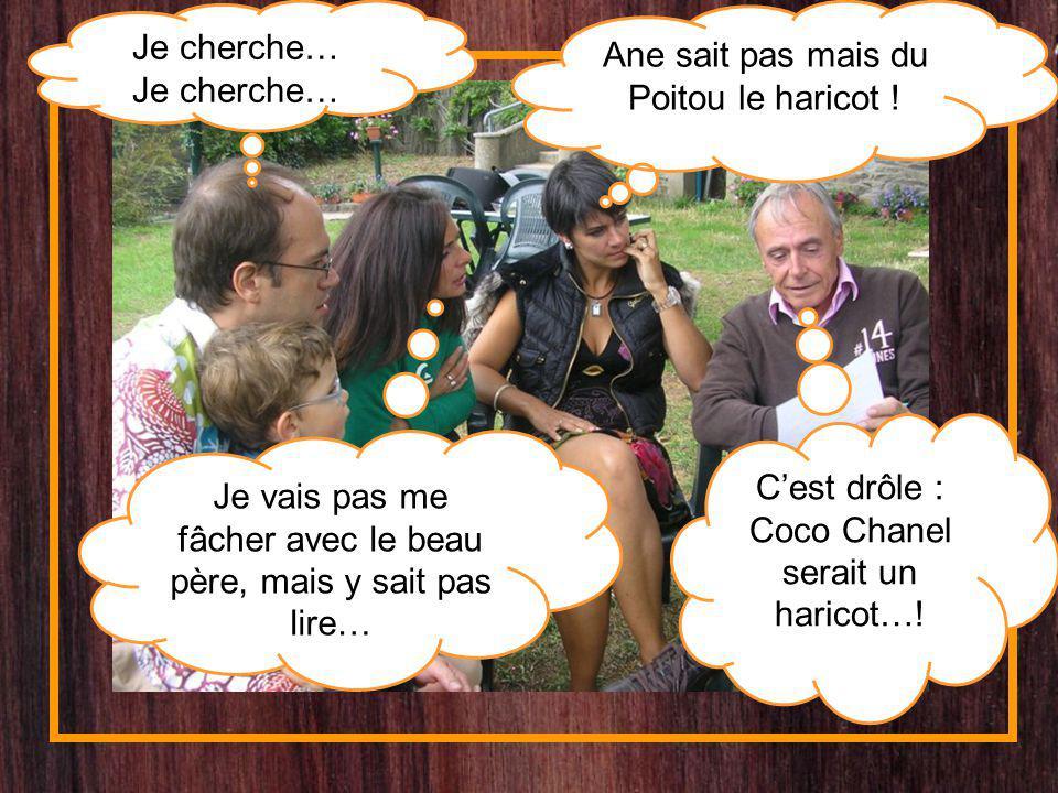 Ane sait pas mais du Poitou le haricot !