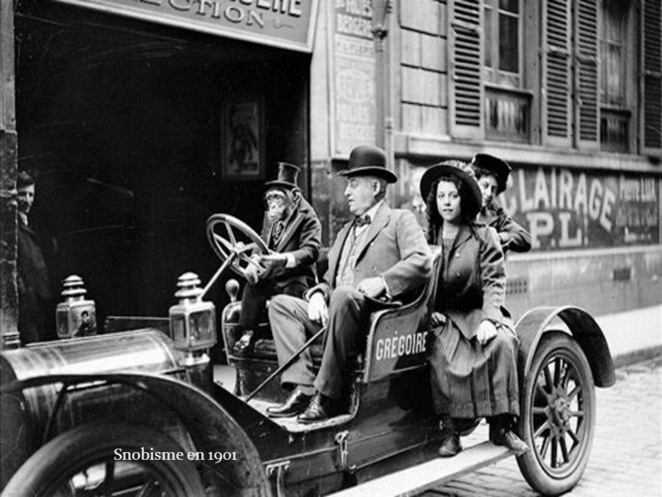Snobisme en 1901