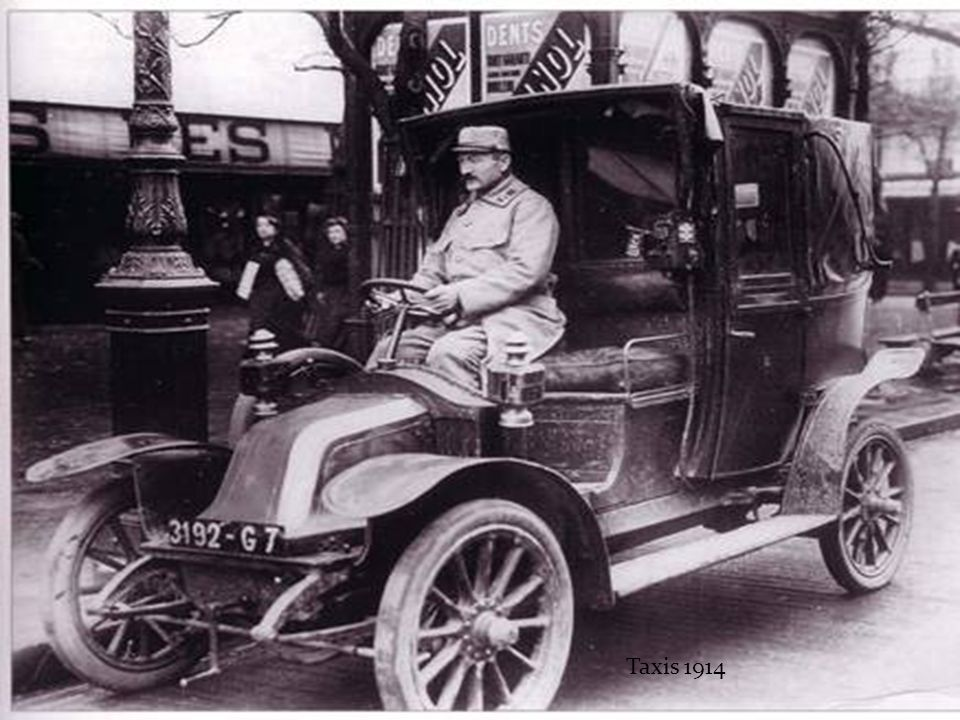 Taxis 1914