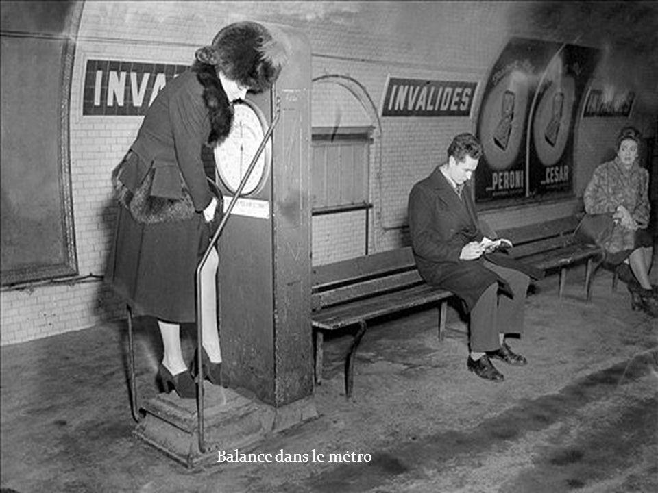 Balance dans le métro