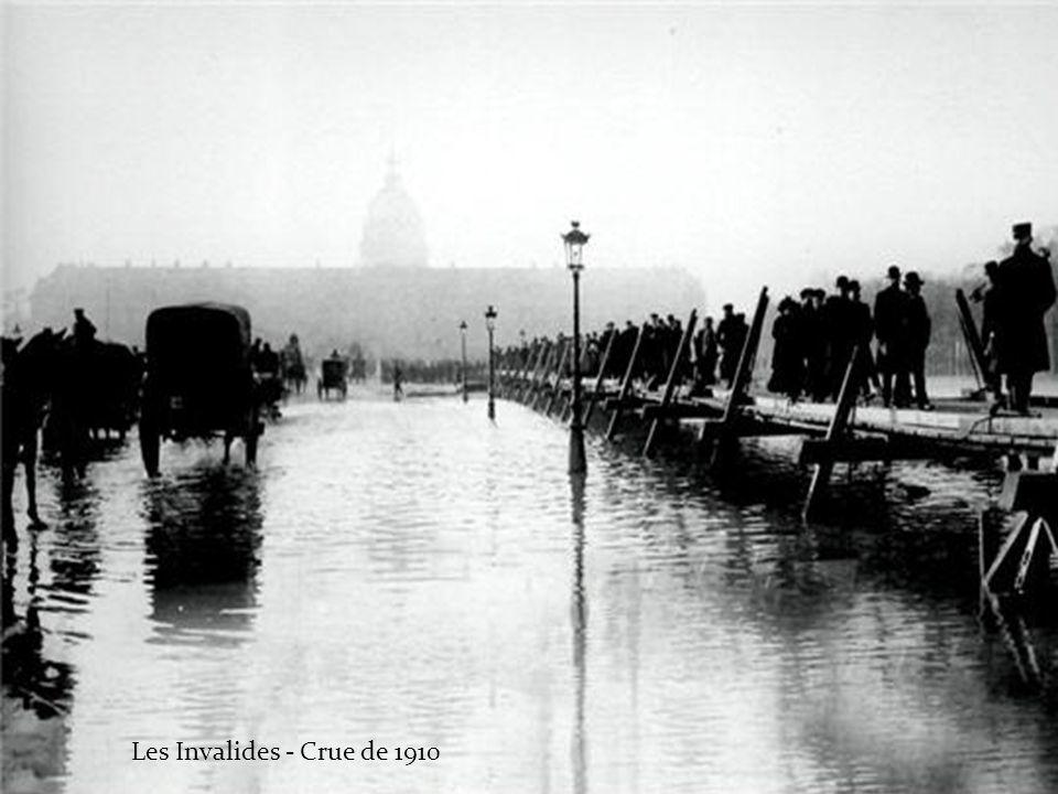 Les Invalides - Crue de 1910