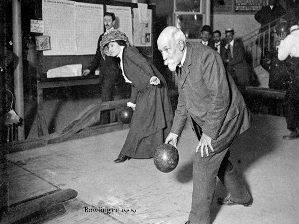 Bowling en 1909