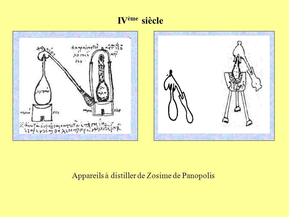 Appareils à distiller de Zosime de Panopolis