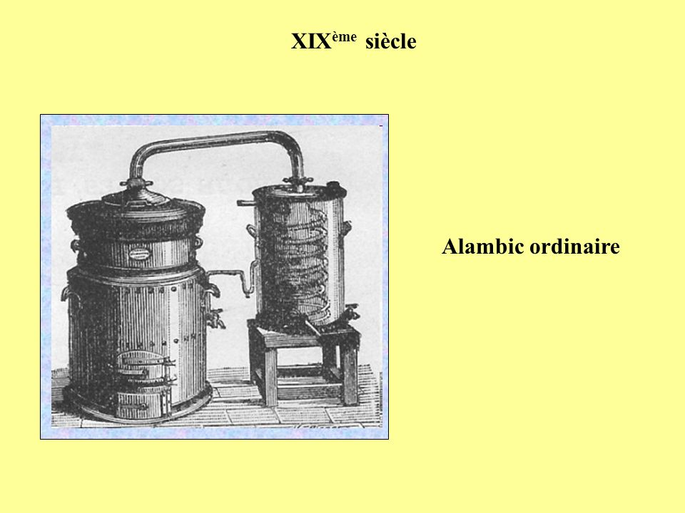 XIXème siècle Alambic ordinaire