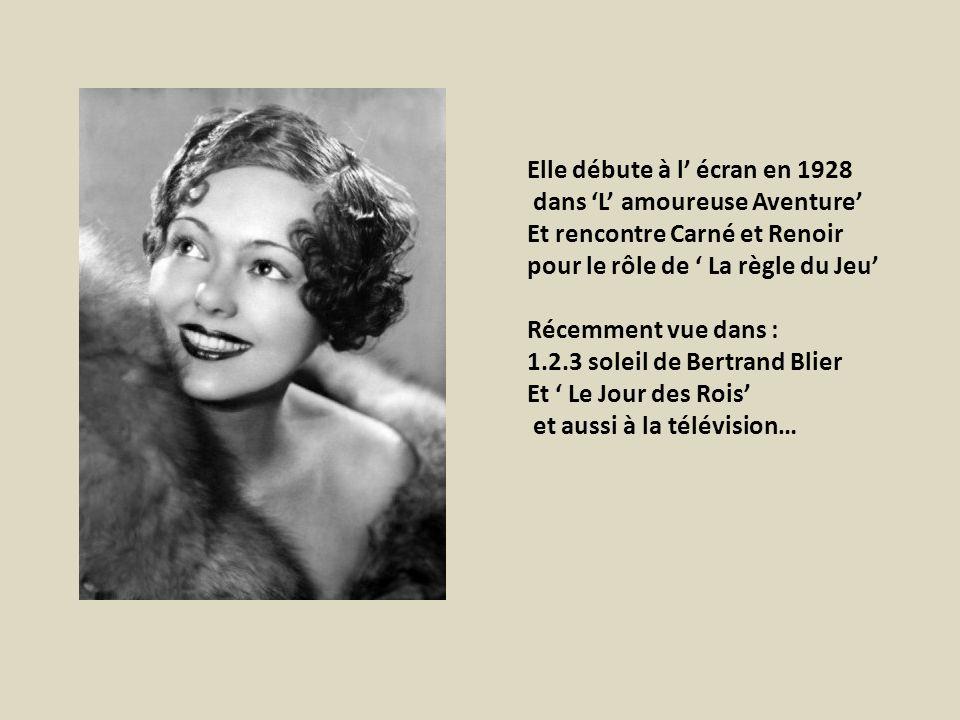 Elle débute à l' écran en 1928